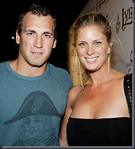 Rachel Hunter and Jarret Stoll (PA Photos)